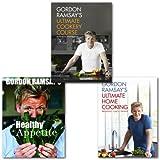 Gordon Ramsay Gordon Ramsay's Ultimate Cooking 3 Books Set,