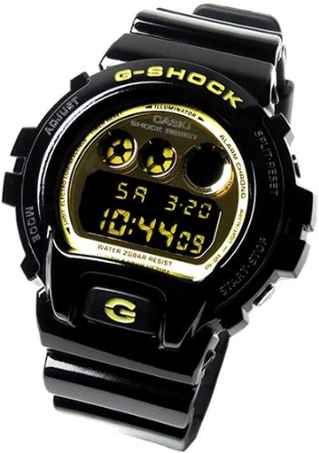 Gee and shock G-shock 6600 G shock CASIO Casio DW-6900CB-1 men's watch black gold [parallel import goods]