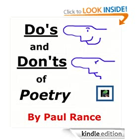 Paul Rance's Do's and Don'ts of Poetry