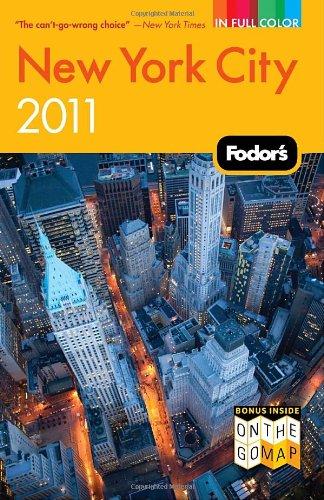 Fodor's New York City 2011 (Full-color Travel Guide)