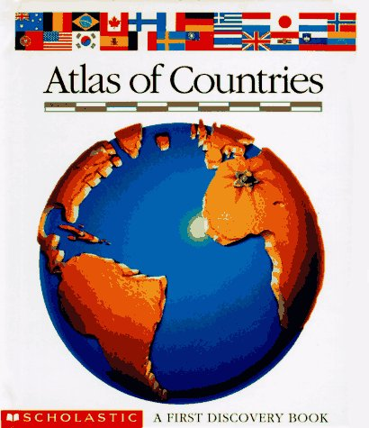 Atlas Of Countries (First Discovery Books) back-1014847