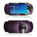 echange, troc Skin sticker de protection pour PSP : Purple Dragon design par Kerem Beyit