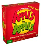 APPLES TO APPLES PARTY BOX – THE GAME OF HILARIOUS COMPARISONS (FAMILY EDITION) REVIEWS
