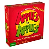 Apples to Apples Party Box - The Game of Hilarious Comparisons (Family Edition) ~ Mattel