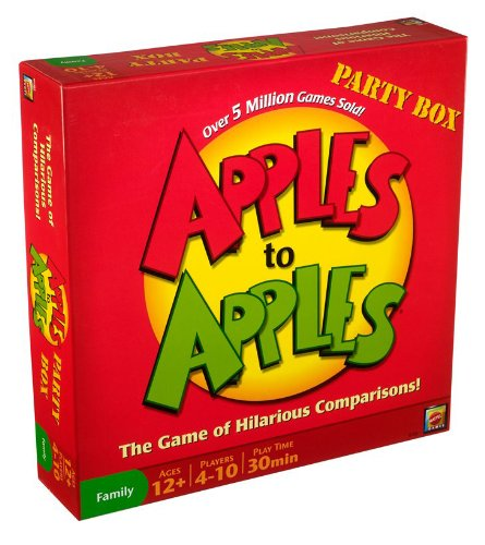 Apples to Apples Party Box – The Game of Hilarious Comparisons (Family Edition)