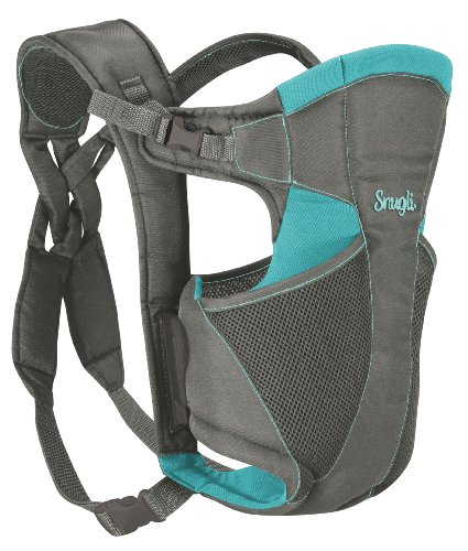 Evenflo Snugli Comfort Vent Soft Carrier, Gray/Aruba