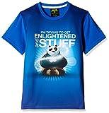 Kung Fu Panda Boys' T-Shirt (KFPTEE010_Cobalt Blue_7 - 8 Years)