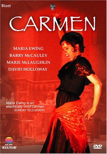 Georges Bizet - Carmen / Peter Hall, Bernard Haitink, Maria Ewing, Barry McCauley, London Philharmonic, Glyndebourne Festival Opera