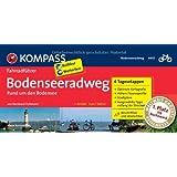 Bodenseeradweg rund um den Bodensee: Fahrradführer mit Top-Routenkarten im optimalen Maßstab. (KOMPASS-Fahrradführer)