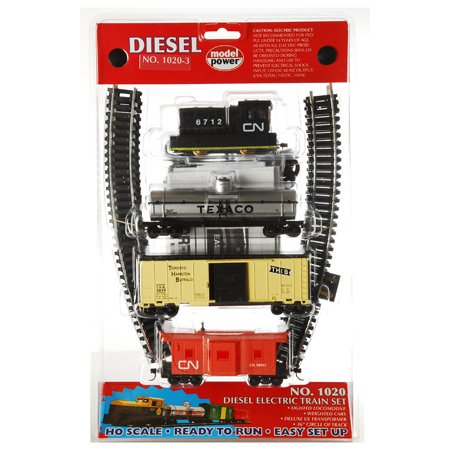 Model Power HO Diesel Train Set, CN MDP10203