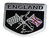 【Cat fight】 ユニオンジャック エンブレム イギリス ロゴ 国旗 旗 金属製 プレートステッカー デコレーション ステッカー ラベル