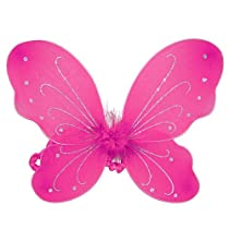 Sparkle Butterfly Wings (More Colors...) Select Color: fuchsia