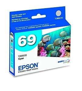 Epson Durabrite Ultra 69 Series Ink - Cyan (T069220)