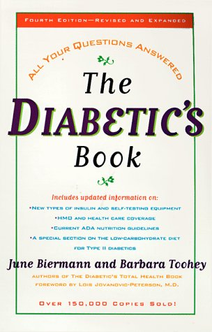 Diabetics Book : All Your Questions Answered, JUNE BIERMANN, BARBARA TOOHEY