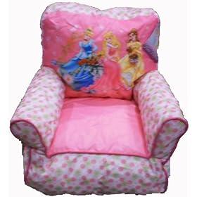 Disney Princess Bean Bag Chair For Girls Home Kitchen