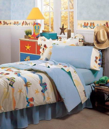 Room Magic RM02-CB Twin Comforter/Bedskirt/Sham Set, Cowboy