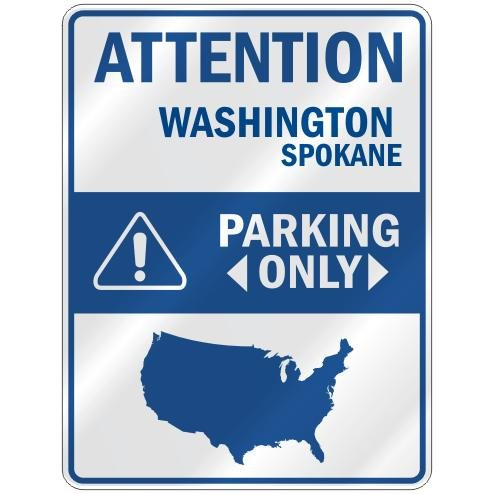 Spokane Parking Sign
