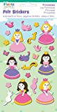 Fiesta Crafts Princesses Felt Stickers Pack of 6