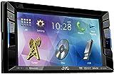JVC KW-V220BT Doppel-DIN DVD/CD/USB-Receiver mit Bluetooth schwarz