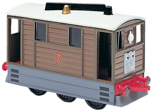 Thomas the Tank Engine Shining Time Station TOBY diecast train - 1