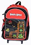 16″ Angry Birds Lenticular Roller Backpack – Book Bag Rolling