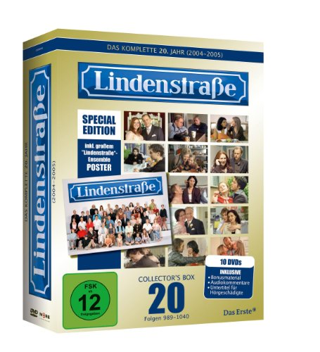 Lindenstraße - Collector's Box 20 (Limited Edition im exklusiven Gold-Schuber inkl. Audiokommentare + Poster ) [Special Edition] [10 DVDs]