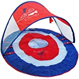 Swimways Baby Spring Float Canopy Boat - Solid