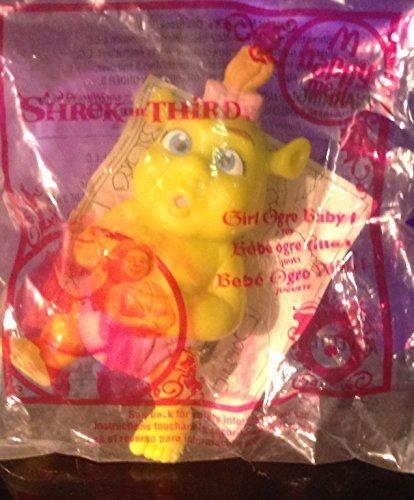 McDonalds Shrek the Third Toy 6 Girl Ogre Baby