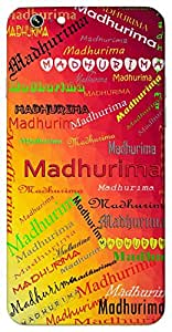 Madhurima (Sweet girl) Name & Sign Printed All over customize & Personalized!! Protective back cover for your Smart Phone : Samsung Galaxy Note-5