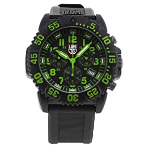 Luminox Men's 3097 Plastic Analog Plastic Bezel Watch