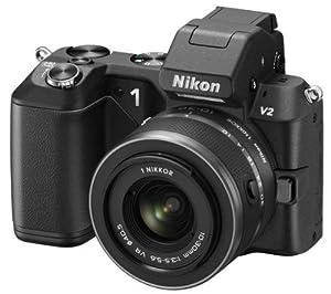 NIKON 1 V2 black + NIKKOR VR 10-30 mm lens + SDHC Premium Series - Flash memory card - 16 GB - Class 10