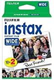 Fuji Wide Instant Color Film Instax for 200/210 Cameras - 2 Twin Packs - 40 P...