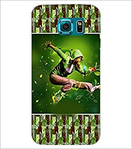 PrintDhaba Dancing Boy D-3626 Back Case Cover for SAMSUNG GALAXY S6 (Multi-Coloured)
