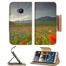 buy Mountains Landscapes Italy Panorama Scenery Htc One M7 Flip Cover Case With Card Holder Customized Made To Order Support Ready Premium Deluxe Pu Leather 5 11/16 Inch (145Mm) X 2 15/16 Inch (75Mm) X 9/16 Inch (14Mm) Msd Htc One Professional Cases Accessori
