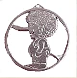 Sterling Silver Troll Pendant/ Ornament