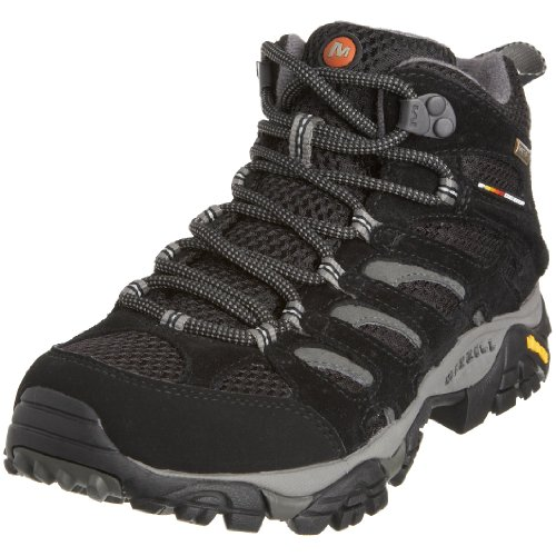 Merrell Women's Moab Mid Gtx Sport Shoes - Outdoors J584598 Black EU 36 / UK 3.5