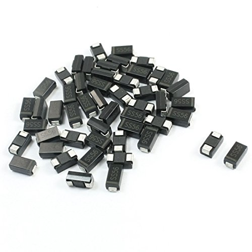 Electric Components Do-214Ac 60V 5A Schottky Diode Ss56 50Pcs