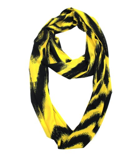Modadorn 2014 New Arrivals Bright Color Wild Chevron pattern infinity Scarf