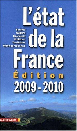 L'ETAT DE LA FRANCE 2009-2010 Offerlé, Michel, POCHE