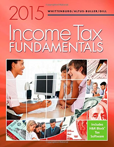 Income Tax Fundamentals 2015 (with H&R Block Premium & Business Software CD-ROM) PDF