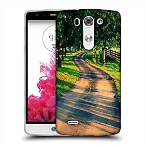 Snoogg Pathway Designer Protective Back Case Cover For LG G3 BEAT