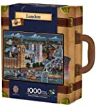 MasterPieces / Collector Suitcase 1000-piece Puzzle, London