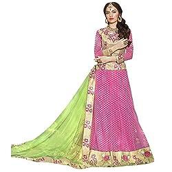 Triveni Net Lehenga Choli (TSSATGL5307_Pink)