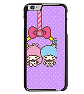 Printvisa two animated girls hanging Back Case Cover for Apple iPhone 6S
