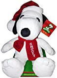 "Peanuts Musical 12"" Snoopy Christmas Plush - Plays ""Lucy and Linus"" Song"