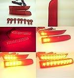 アルファード10系リフレクター LED リフレクター スモール ブレーキ 流れるウインカー  アルファード10系G/V 20系G/X ヴェルファイアX/V ヴァンガード エスティマ50系
