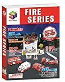 The 3D Jigsaw Fire Series, 119 Pieces by 3d Puzzle Place