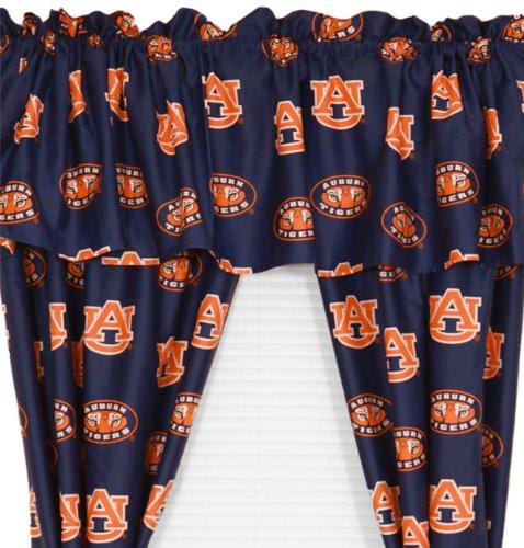 Auburn Tigers Long Collegiate Curtains - Ncaa Window Treatment front-1074423