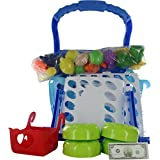 Comdaq Shopping Cart With Light And Music - Blue