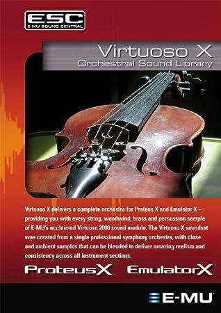 E-MU EM8680 Virtuoso X Emulator X2/Proteus X2 Orchestral Sound Library